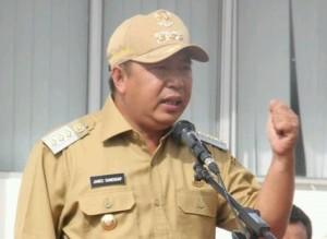 Bupati Mitra, Minahasa Tenggara , James Sumendap,