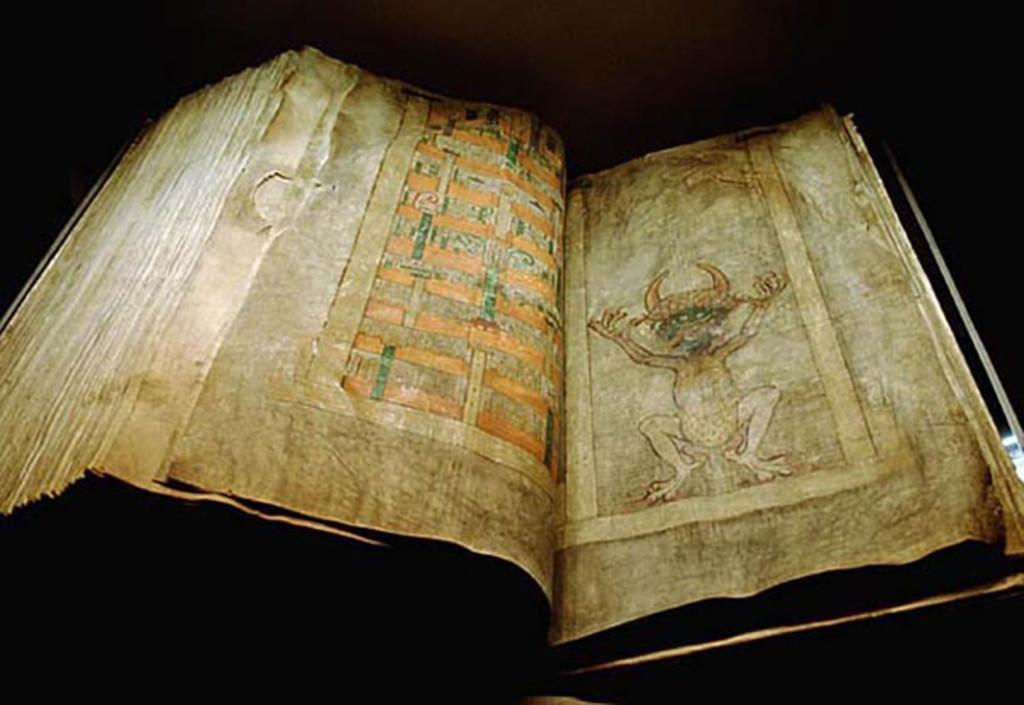 Kita Setan, Kita kegelapan, biara Benediktin, Codex Gigas