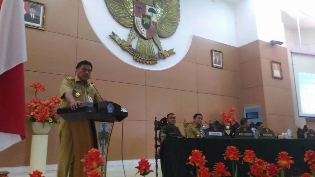 Gubernur Sulawesi Utara ,Olly Dondokambey,  Batas Daerah , sengkata batas daerah