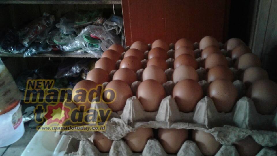 Harga Telur, pasar Amurang, minahasa selatan