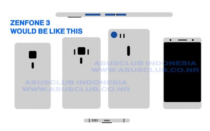 ASUS Zenfone 3, ASUS , harga Zenfone 3, spesifikasi Zenfone 3