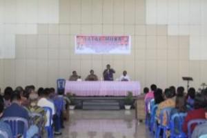 Bupati James Sumendap SH, Pemkab Mitra , Minahasa Tenggara