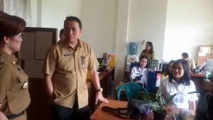 Wali Kota Tomohon, Jimmy F Eman SE Ak, Wakil Wali Kota ,Syerly Adelyn Sompotan, Setdakot Tomohon