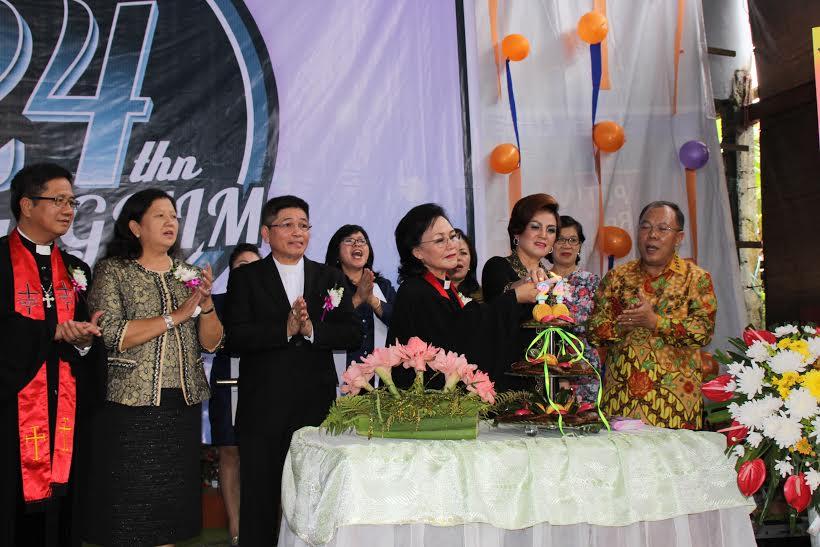 HUT ke-24 GMIM Kuranga dan Pisah Sambut Ketua BPMJ