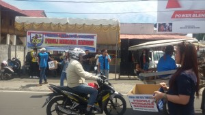Peduli Bencana Sangihe, SAS Pimpin Pemuda Tomohon Galang Dana