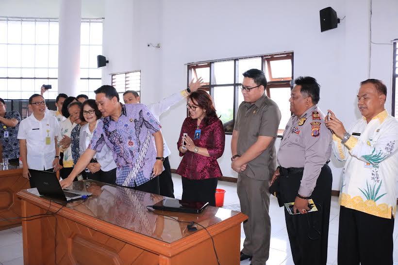 Launching SIAP IMB di Kota Tomohon