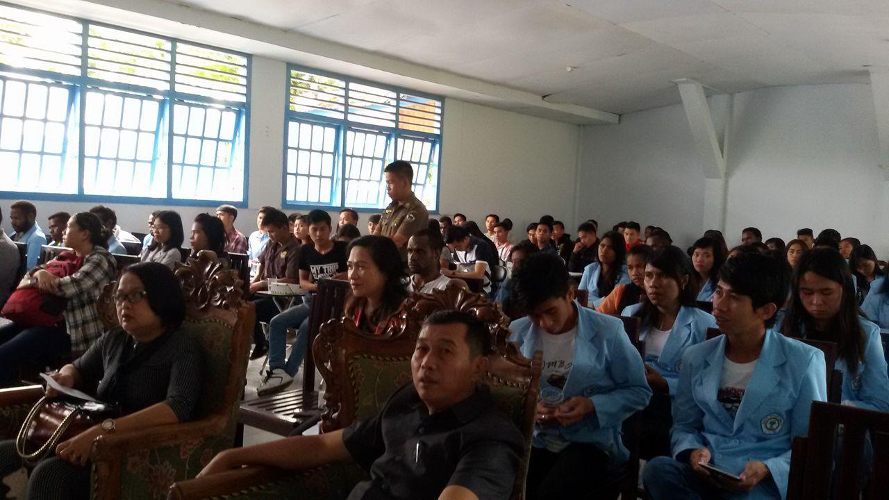 peserta rapat dengarv pendapat Senator SBANL