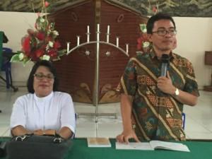 Anggota DPD-RI SBANL Sosialisasi Empat Pilar di Bunaken