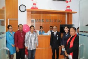 Kantor Kas Sulut-Go, Bank Sulut-Go,  Minahasa Tenggara