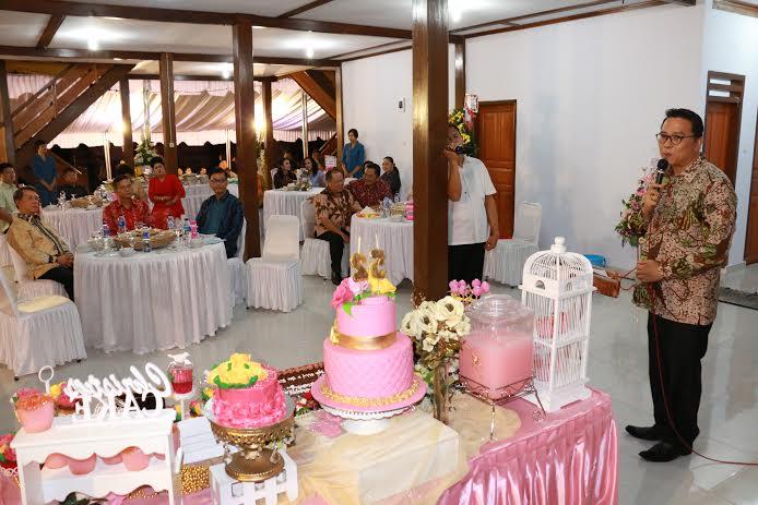 Syukuran rumah baru Kapolda Sulut