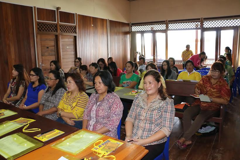 Para peserta pelatihan UP2K