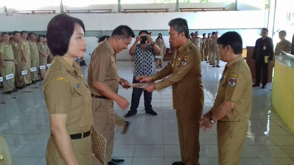 Wakil Bupati Minsel , Frangky Wongkar,ASN