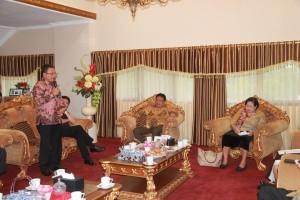 Wawali Paparkan Hambatan Pertumbuhan Ekonomi Kota Bitung di Rakor Pengembangan Provinsi Sulut