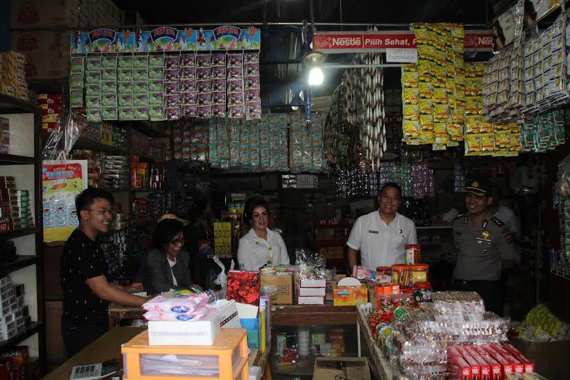 Peninjauan ketersediaan dan harga di Pertokoan Pasar Beriman