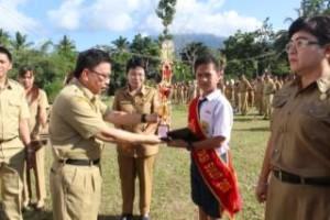 Hari lingkungan Hidup, Sekda Mitra, Ir Farry Liwe, Minahasa Tenggara