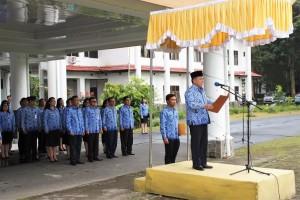 Wali Kota Tomohon Minta Korpri Makin Solid dan Profesional