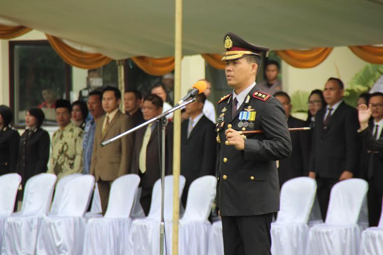 Kapo;res Tomohon AKBP Monang Simanjuntak SIK