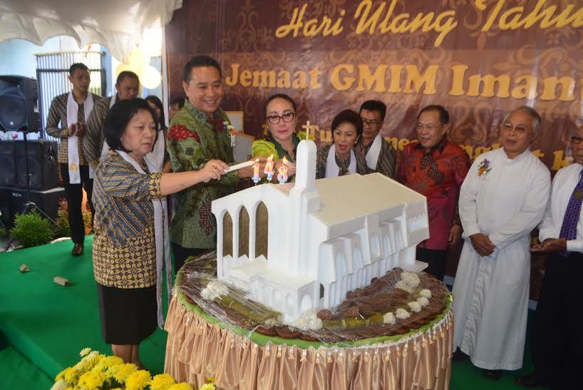 Peringatan HUT ke-148 GMIM Imanuel Walian Tomohon Tiga