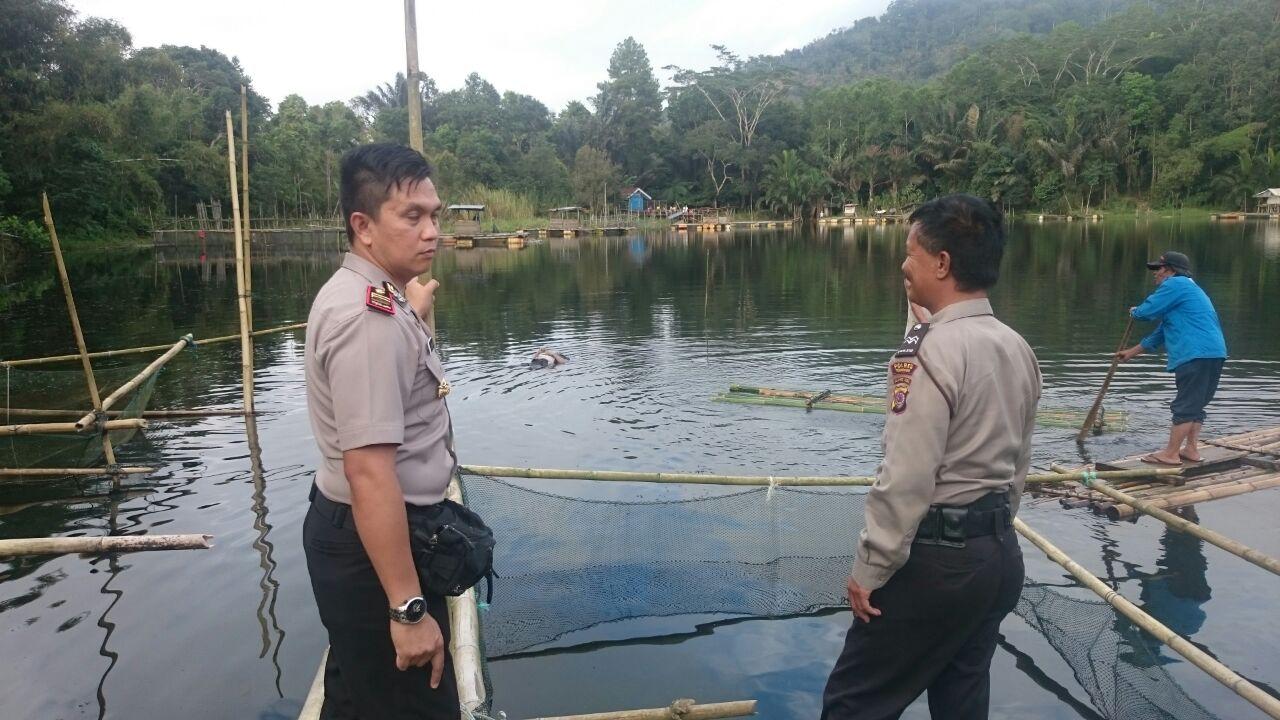 Kapolsek Tomohon Selatan di TKP