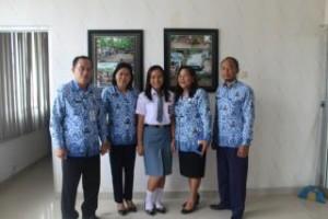 Flora Gratia Walelang ,SMA Negeri 1 Ratahan ,Minahasa Tenggara, Forum Anak Nasional , FAN 2016