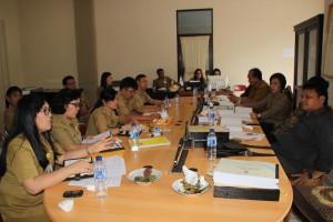 Alot, Pembahasan Ranperda Pertanggungjawaban APBD Tomohon 2015 di DPRD