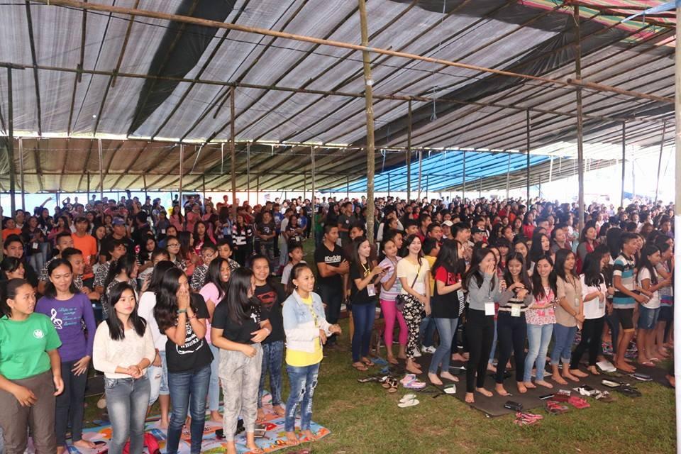 Peserta Perkemahan Kreatif Remaja Sinode GMIM 2016
