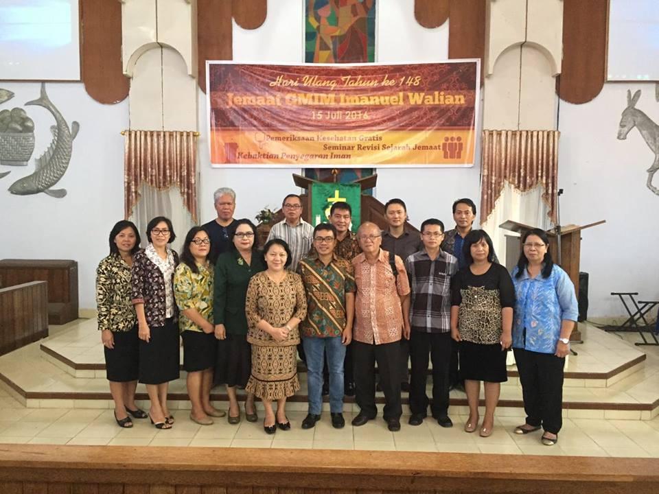 Seminar Sejarah GMIM Imanuel Walian