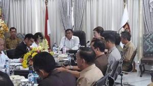 Dewan Katahanan Nasional RI, Brigjen TNI Robert Lumempouw,Pemkab Minsel