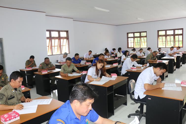 Ujian kenaikan pangkat dan penyesuaian ijazah