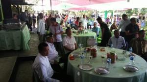Lebaran , Frangky Donny Wongkar , Sekertaris Daerah ,Danny Rindengan, minahasa selatan, idul fitri