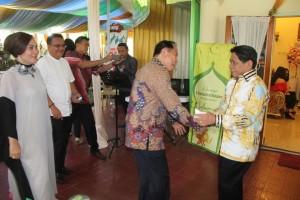 Walikota dan Wawali Bitung Safari Idul Fitri di Sejumlah Tempat