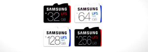 Kartu Memori UFS , Samsung