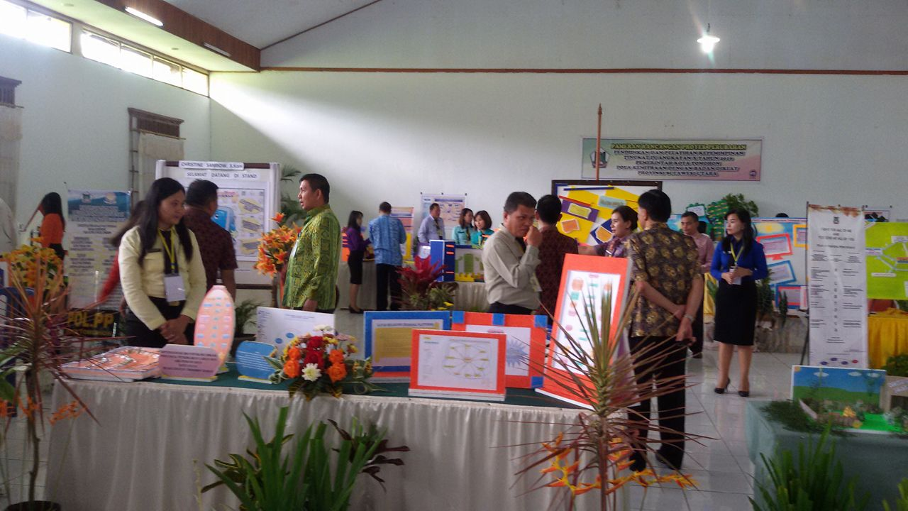 Pameran Proyek Perubahan Diklat PIM IV Kota Tomohon di Aula Homestay