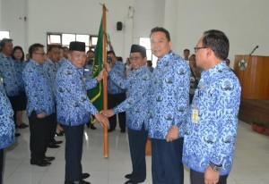 Poli Dilantik Ketua Korpri Kota Tomohon
