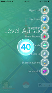 Pokemon Go, level 40 Pokemon Go, level max Pokemon Go