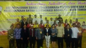 Baitani Matani ,Ebenhaezer Woloan,Lomba Paduan Suara, Denominasi Agama
