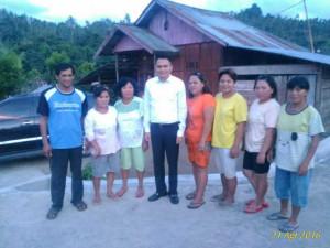 Wakil Bupati Minahasa Tenggara, Ronald Kandoli,Kalait, Rasi