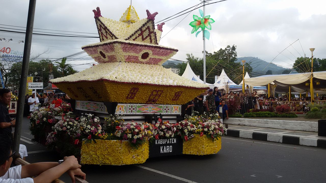 Float Kabupaten Karo Sumatera Utara