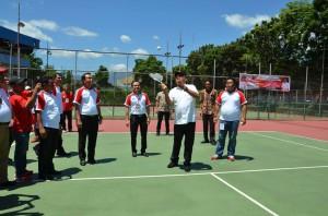 Kejurnas Tenis, Piala Gubernur Sulut , Ketua Umum PP PSTI, Martuama Saragi,