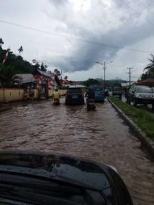 SMA N 1 Amurang, Frangky Lelengboto, banjir