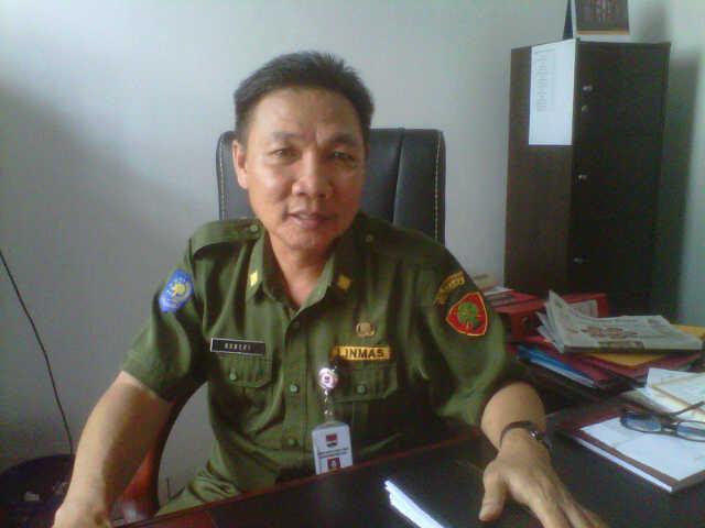 Kepala Inspektorat Mitra Robert Rogahang SE