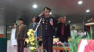 Kapolres Minsel, AKBP Arya Perdana SH SIK MSi, hut ri
