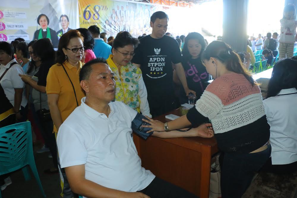 Pemeriksaan dan Pengobatan gratis