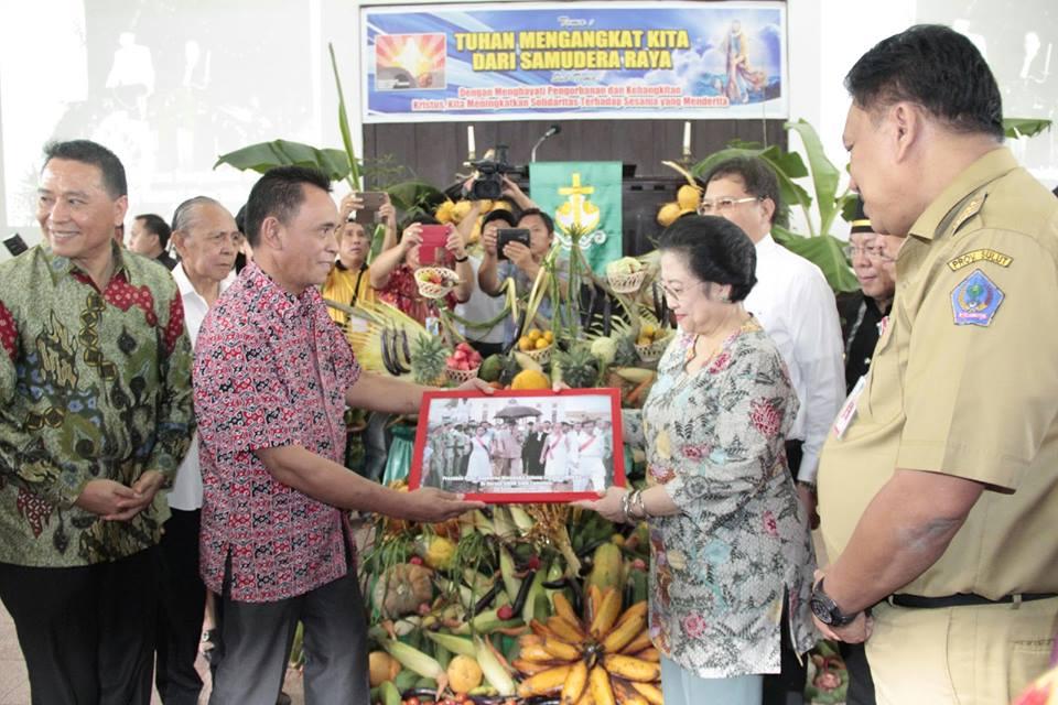 Megawati Soekarno Putri,  Sulawesi Utara, Pancasila
