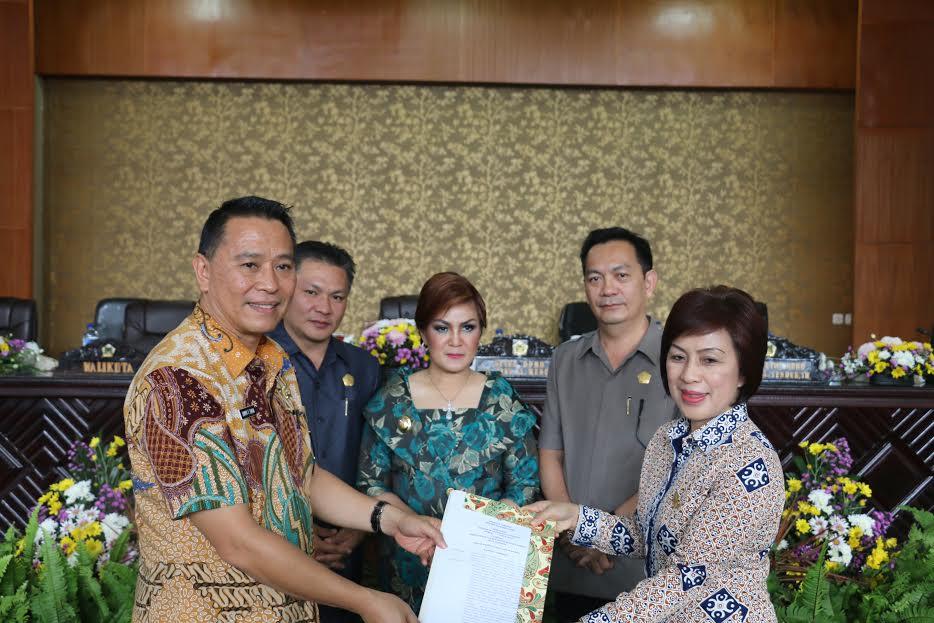 Wali Kota ajukan Ranperda Pembentukan dan Susunan Perangkat Daerah