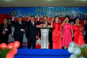 Walikota Bitung: Proklamasi Momentum Refleksi dan Evaluasi Perjalanan Bangsa