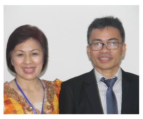 Ketua P/KB dan W/KI GMIM Imanuel Walian Pnt Ir Stefanus BAN Liow dan Pnt Ir Miky JL Wenur
