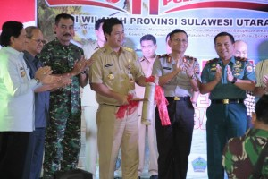 Wakil Gubernur Sulawesi Utara,Steven Kandouw,  pameran 11 pulau terluar