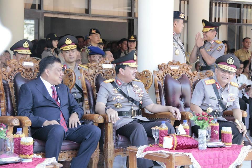Wakapolri ,Komjen Pol Budi Gunawan, Polda Sulut
