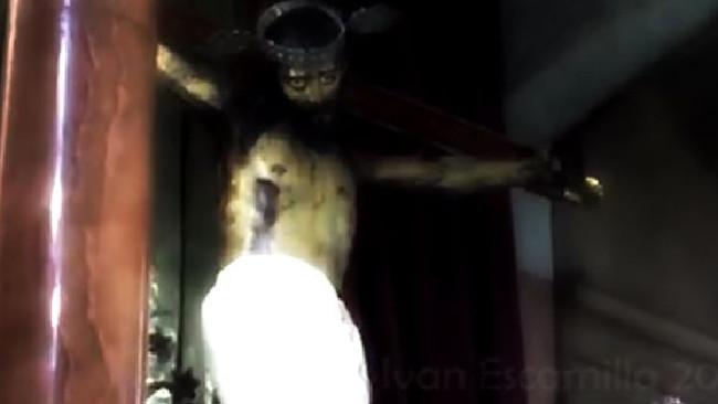 Patung Yesus, Coahuila de Zaragoza, Meksiko,Kapel Saltillo,